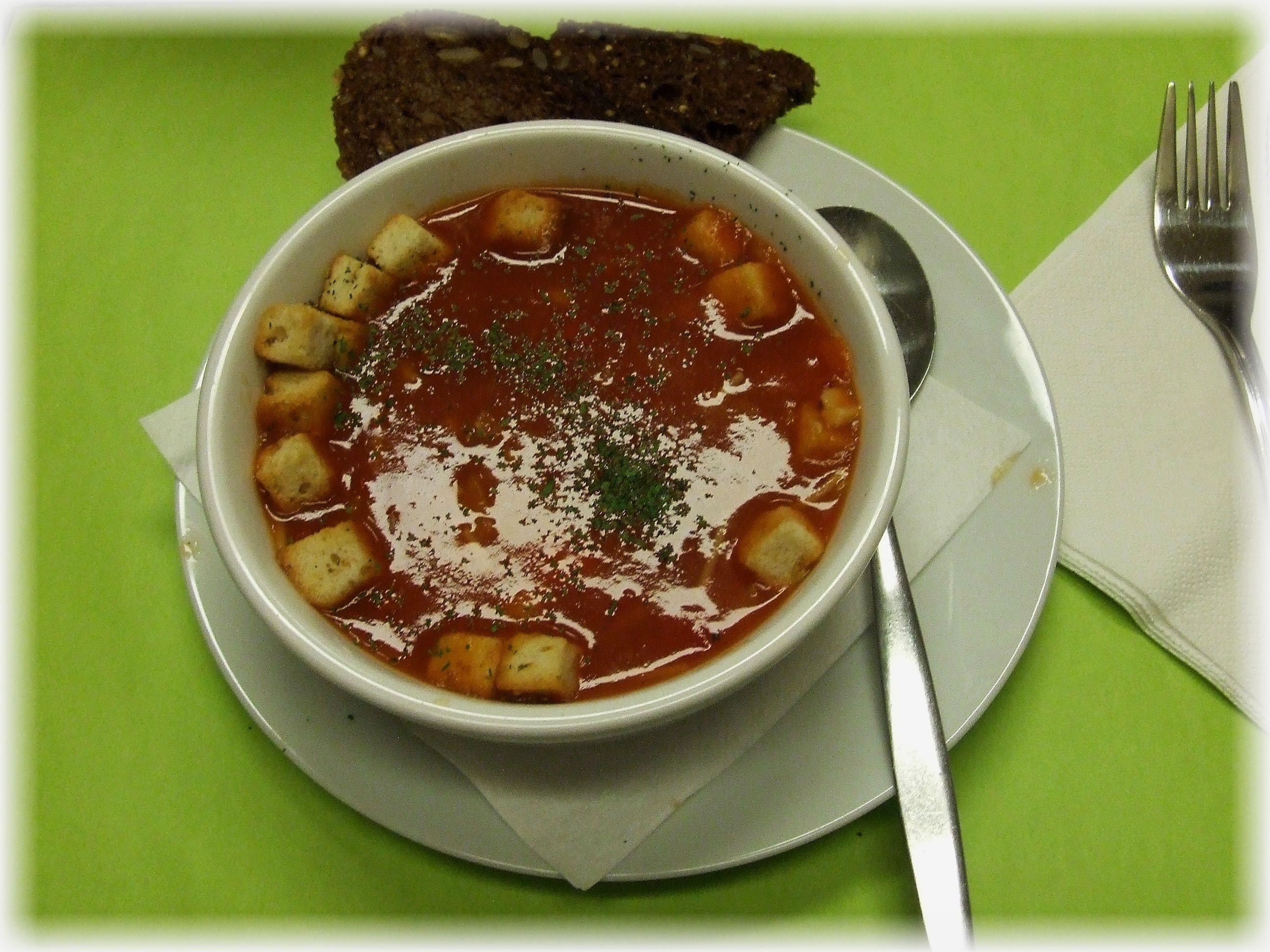 Soepen - gebonden Tomatensoep